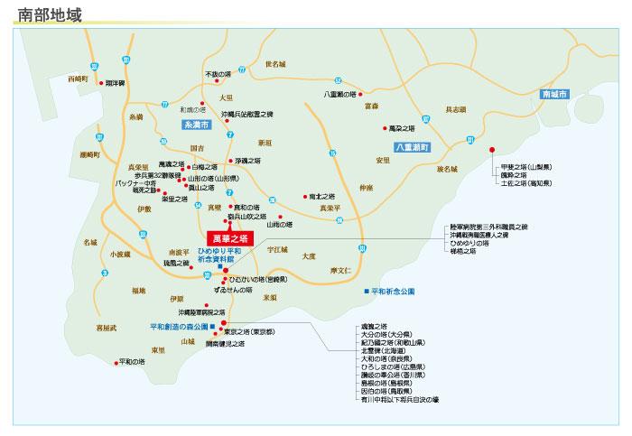 萬華之塔の地図