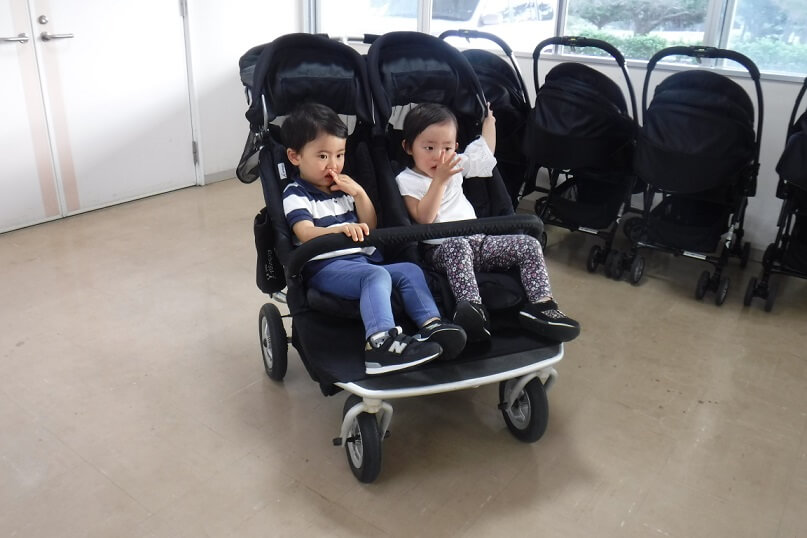 20181221 双子用ベビーカー利用状況